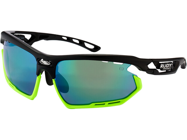 Rudy Project Fotonyk Bril, matte black/lime/polar3FX HDR multilaser green